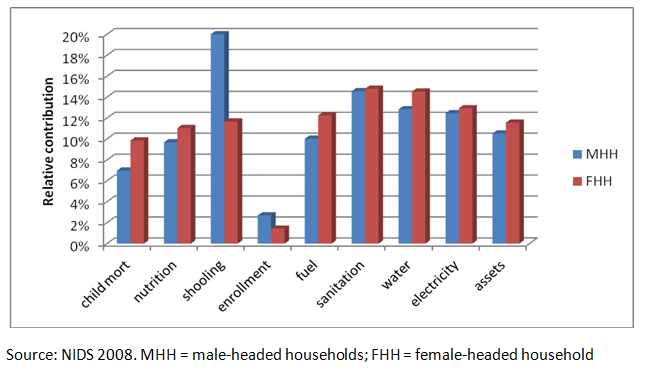 poverty dynamics of female headed households in Poverty in nigeria: a gendered analysis pronounced in female-headed households in 1980 appear to significantly increase poverty in female-headed households.