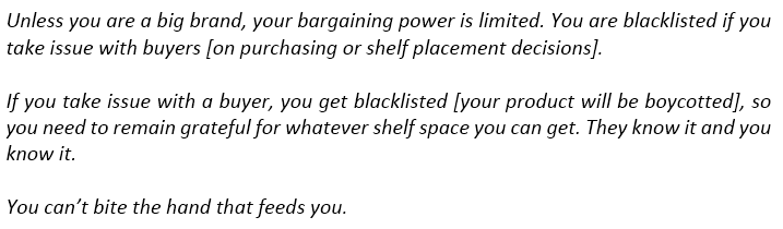 bargaining power of suppliers example